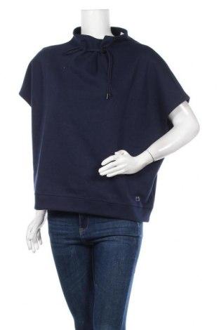Дамска спортна блуза S.Oliver, Размер XL, Цвят Син, 56% полиестер, 44% памук, Цена 44,25лв.