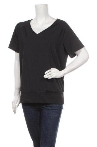 Дамска спортна блуза Sports Performance by Tchibo, Размер M, Цвят Черен, 86% полиестер, 14% еластан, Цена 5,14лв.
