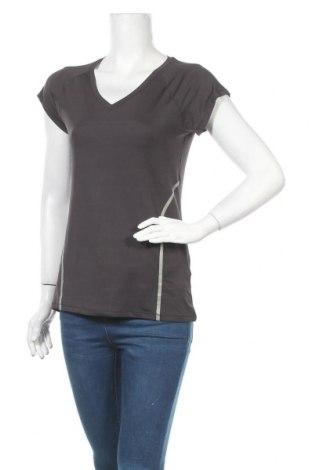 Дамска тениска Active By Tchibo, Размер S, Цвят Сив, 86% полиестер, 14% еластан, Цена 5,48лв.