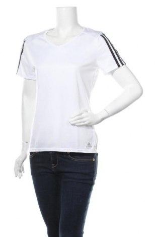 Дамска тениска Adidas, Размер M, Цвят Бял, Полиестер, Цена 51,75лв.