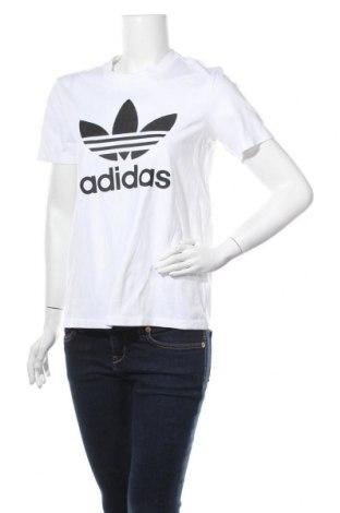 Дамска тениска Adidas Originals, Размер L, Цвят Бял, 92% памук, 8% еластан, Цена 48,00лв.