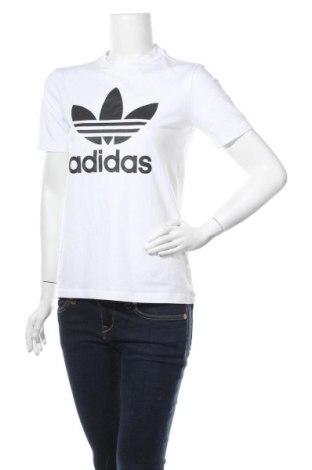 Дамска тениска Adidas Originals, Размер M, Цвят Бял, 95% памук, 5% еластан, Цена 43,50лв.
