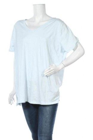 Дамска тениска Ava & Viv, Размер XXL, Цвят Син, 95% памук, 5% еластан, Цена 11,03лв.