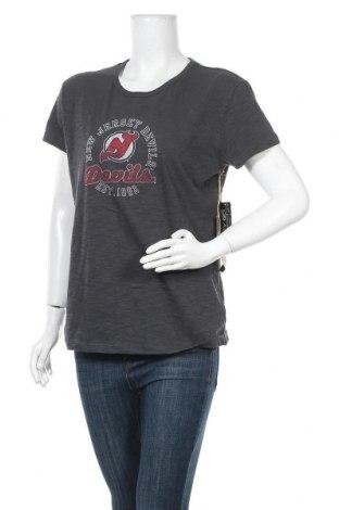 Γυναικείο t-shirt Banner, Μέγεθος XL, Χρώμα Γκρί, 80% βαμβάκι, 20% πολυεστέρας, Τιμή 12,67€
