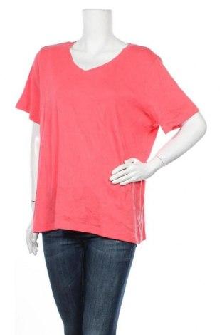 Γυναικείο t-shirt Christopher & Banks, Μέγεθος XL, Χρώμα Ρόζ , Βαμβάκι, Τιμή 10,49€