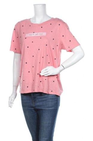 Γυναικείο t-shirt Clothing & Co, Μέγεθος XL, Χρώμα Ρόζ , 60% βαμβάκι, 40% πολυεστέρας, Τιμή 10,49€