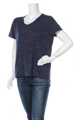 Γυναικείο t-shirt Croft & Barrow, Μέγεθος XL, Χρώμα Μπλέ, 84% βαμβάκι, 12% πολυεστέρας, 4% ελαστάνη, Τιμή 8,64€