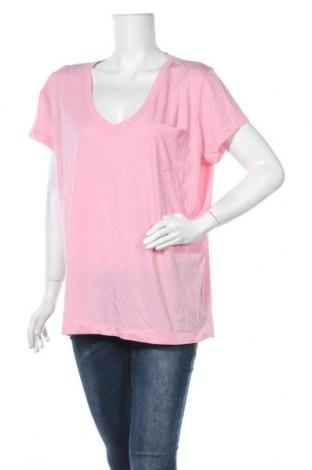 Γυναικείο t-shirt Denver Hayes, Μέγεθος XXL, Χρώμα Ρόζ , Τιμή 9,25€
