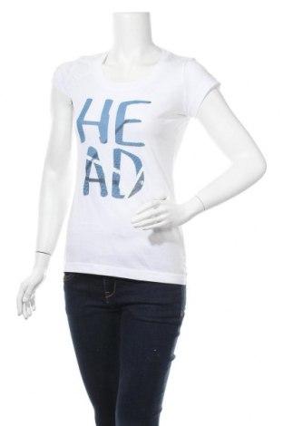 Дамска тениска Head, Размер S, Цвят Бял, 65% полиестер, 35% памук, Цена 11,60лв.
