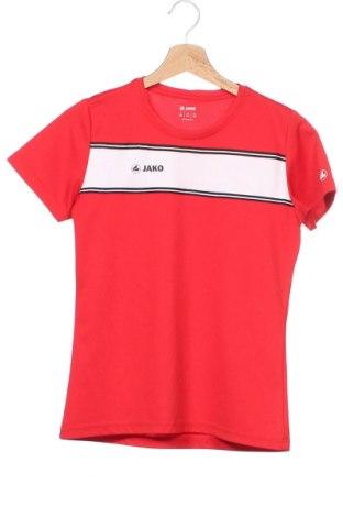 Γυναικείο t-shirt Jako, Μέγεθος XS, Χρώμα Κόκκινο, Πολυεστέρας, Τιμή 11,69€