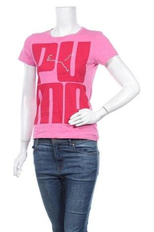 Дамска тениска PUMA, Размер S, Цвят Розов, Цена 24,94лв.