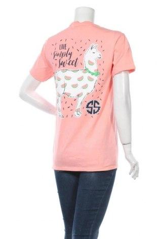Дамска тениска Simply Southern, Размер S, Цвят Розов, Памук, Цена 19,50лв.