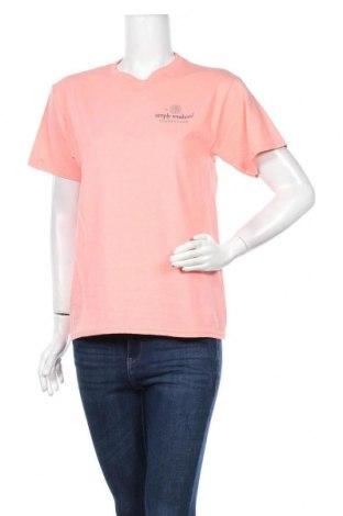 Γυναικείο t-shirt Simply Southern, Μέγεθος L, Χρώμα Ρόζ , Βαμβάκι, Τιμή 9,78€