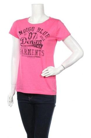 Γυναικείο t-shirt Tom Tailor, Μέγεθος L, Χρώμα Ρόζ , Βαμβάκι, Τιμή 13,92€