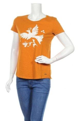 Γυναικείο t-shirt Tom Tailor, Μέγεθος S, Χρώμα Πορτοκαλί, Βαμβάκι, Τιμή 16,42€