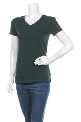 Γυναικείο t-shirt Zenana Outfitters, Μέγεθος L, Χρώμα Πράσινο, 95% βαμβάκι, 5% ελαστάνη, Τιμή 11,04€