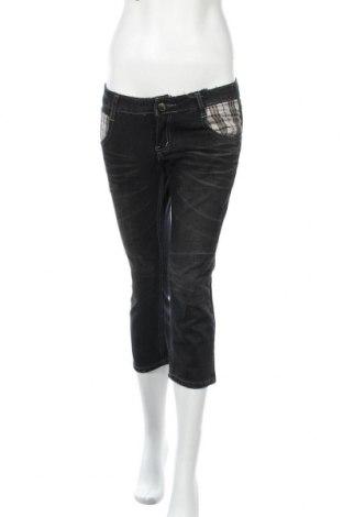 Дамски дънки, Размер M, Цвят Черен, Памук, Цена 20,95лв.