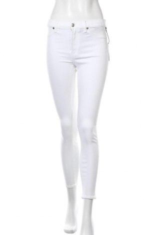 Γυναικείο Τζίν 7 For All Mankind, Μέγεθος M, Χρώμα Λευκό, 85% βαμβάκι, 11% πολυεστέρας, 4% ελαστάνη, Τιμή 83,78€