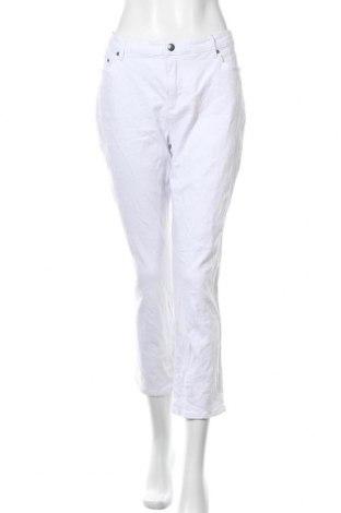 Γυναικείο Τζίν Aniston, Μέγεθος XL, Χρώμα Λευκό, 98% βαμβάκι, 2% ελαστάνη, Τιμή 24,83€
