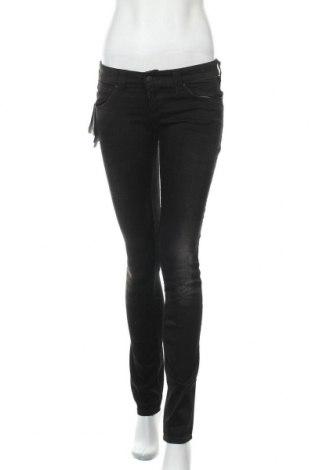 Дамски дънки Armani Jeans, Размер S, Цвят Черен, 98% памук, 2% еластан, Цена 127,20лв.