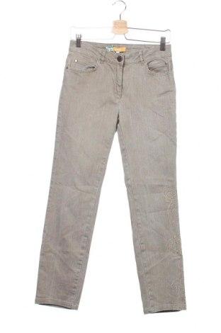 Дамски дънки Biba, Размер XS, Цвят Бежов, 98% памук, 2% еластан, Цена 5,76лв.