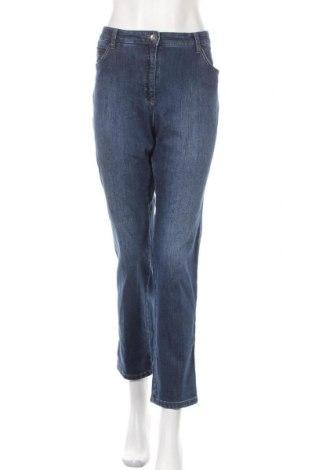 Γυναικείο Τζίν Brax, Μέγεθος XL, Χρώμα Μπλέ, 93% βαμβάκι, 6% πολυεστέρας, 2% ελαστάνη, Τιμή 72,74€