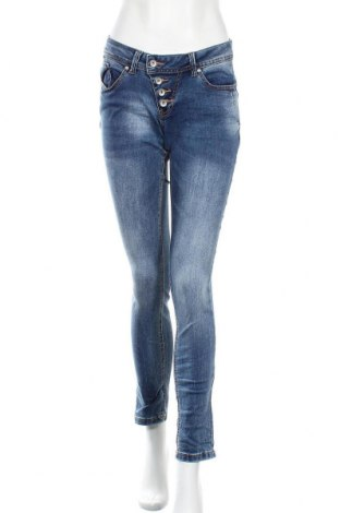 Дамски дънки Buena Vista, Размер S, Цвят Син, 70% памук, 27% полиестер, 3% еластан, Цена 18,38лв.