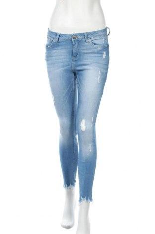 Дамски дънки Denim Co, Размер S, Цвят Син, 99% памук, 1% еластан, Цена 20,95лв.