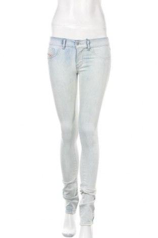 Γυναικείο Τζίν Diesel, Μέγεθος S, Χρώμα Μπλέ, 76% βαμβάκι, 22% πολυεστέρας, 2% ελαστάνη, Τιμή 26,91€