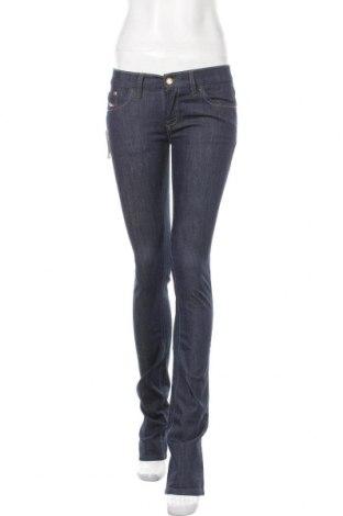 Dámské džíny  Diesel, Velikost M, Barva Modrá, 98% bavlna, 2% elastan, Cena  1394,00Kč