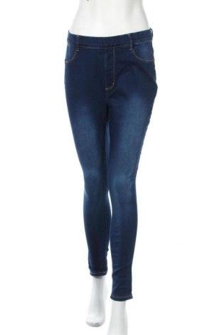 Дамски дънки Even&Odd, Размер M, Цвят Син, 71% памук, 27% полиестер, 2% еластан, Цена 20,95лв.
