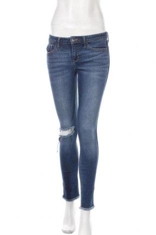 Γυναικείο Τζίν Hollister, Μέγεθος S, Χρώμα Μπλέ, 98% βαμβάκι, 2% ελαστάνη, Τιμή 7,89€