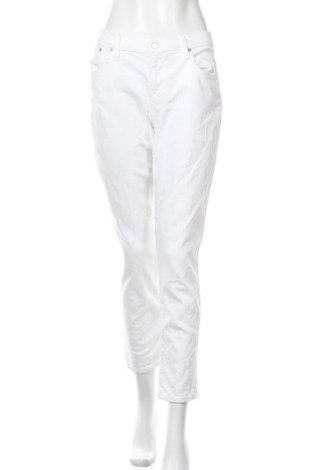 Γυναικείο Τζίν J.Crew, Μέγεθος XL, Χρώμα Λευκό, 99% βαμβάκι, 1% ελαστάνη, Τιμή 67,36€
