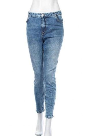Дамски дънки Jake*s, Размер L, Цвят Син, 98% памук, 2% еластан, Цена 46,72лв.