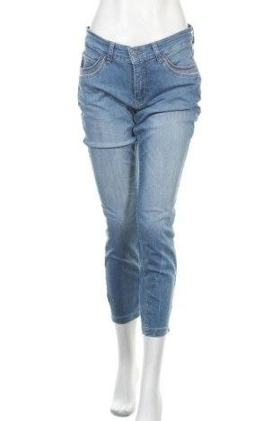 Дамски дънки Mac, Размер L, Цвят Син, 74% памук, 23% полиестер, 3% еластан, Цена 41,30лв.