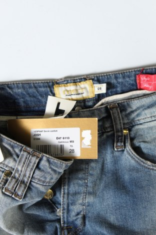 Дамски дънки Met, Размер M, Цвят Син, 98% памук, 2% еластан, Цена 96,75лв.