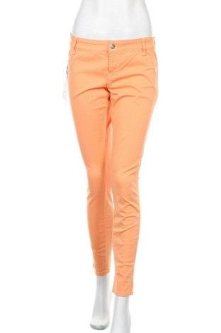 Дамски дънки Met, Размер L, Цвят Оранжев, 98% памук, 2% еластан, Цена 27,65лв.