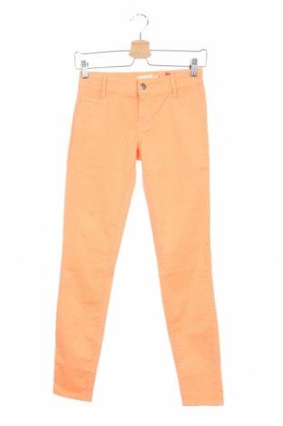 Дамски дънки Met, Размер XS, Цвят Оранжев, 98% памук, 2% еластан, Цена 31,15лв.