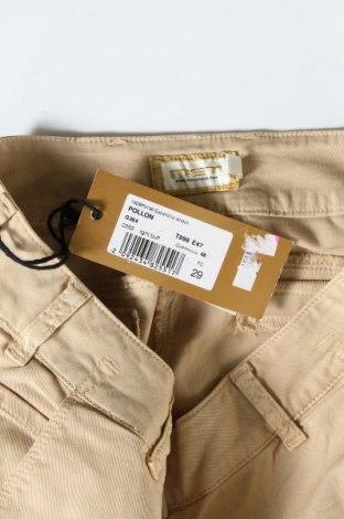 Дамски дънки Met, Размер L, Цвят Бежов, 98% памук, 2% еластан, Цена 64,50лв.