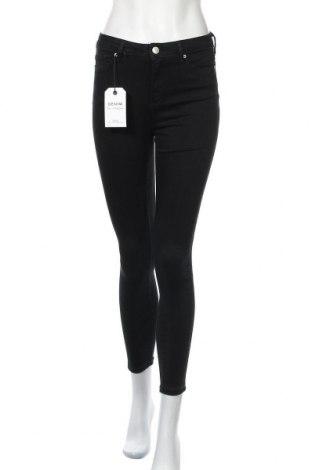 Дамски дънки Miss Selfridge, Размер S, Цвят Черен, 90% памук, 8% полиестер, 2% еластан, Цена 53,72лв.