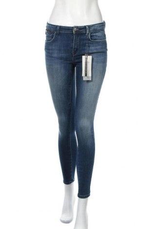 Дамски дънки ONLY, Размер S, Цвят Син, 91% памук, 7% полиестер, 2% еластан, Цена 57,67лв.