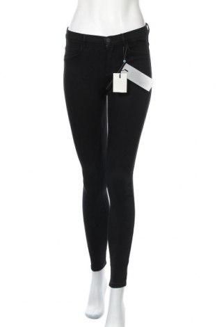 Дамски дънки ONLY, Размер S, Цвят Черен, 53% памук, 29% памук, 17% полиестер, 1% еластан, Цена 41,40лв.