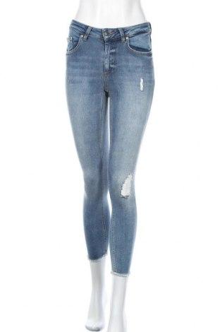 Дамски дънки ONLY, Размер S, Цвят Син, 94% памук, 4% полиестер, 2% еластан, Цена 40,88лв.
