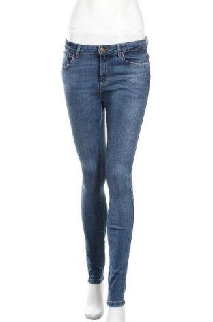 Дамски дънки ONLY, Размер S, Цвят Син, 76% памук, 22% полиестер, 2% еластан, Цена 22,05лв.