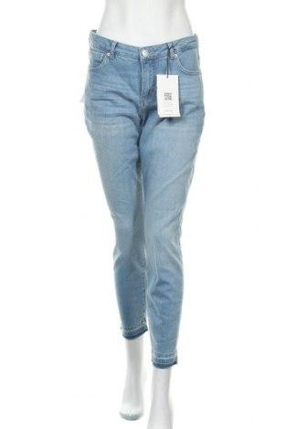 Дамски дънки Opus, Размер M, Цвят Син, 91% памук, 5% еластан, 4% полиестер, Цена 51,75лв.