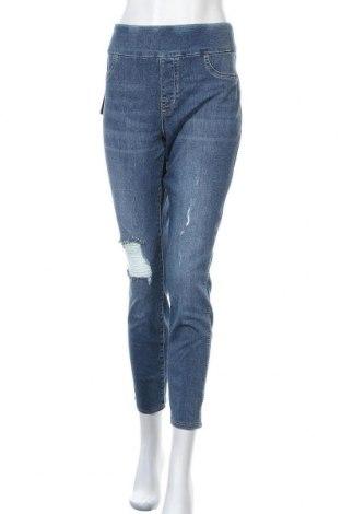 Γυναικείο Τζίν Rock & Republic, Μέγεθος XL, Χρώμα Μπλέ, 91% βαμβάκι, 9% ελαστάνη, Τιμή 27,77€