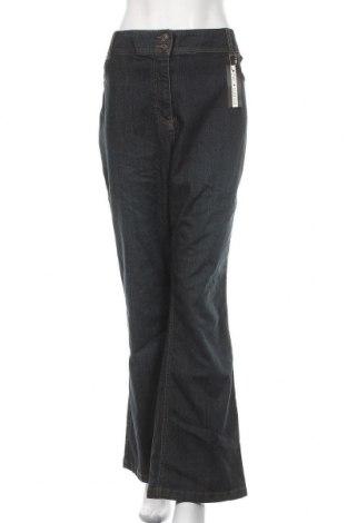 Дамски дънки Simply Be, Размер 3XL, Цвят Син, 98% памук, 2% еластан, Цена 32,76лв.