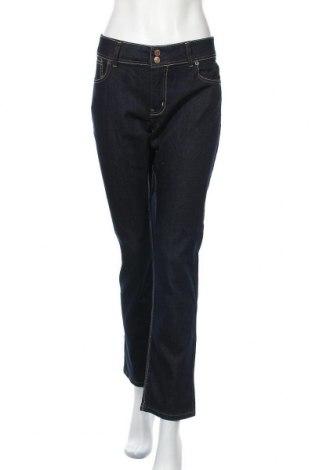 Дамски дънки U.S. Polo Assn., Размер XL, Цвят Син, 84% памук, 15% полиестер, 1% еластан, Цена 35,28лв.