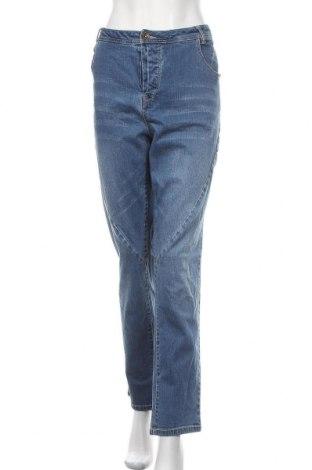 Γυναικείο Τζίν Ulla Popken, Μέγεθος 3XL, Χρώμα Μπλέ, 98% βαμβάκι, 2% ελαστάνη, Τιμή 18,84€