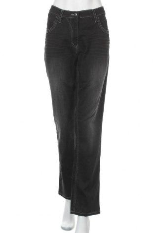 Γυναικείο Τζίν Ulla Popken, Μέγεθος XL, Χρώμα Μαύρο, 98% βαμβάκι, 2% ελαστάνη, Τιμή 14,94€